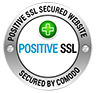 Positive SSL Secured Website Seal