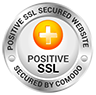 SSL Certificate  Yoga Philosophy with James Traverse PositiveSSL tl white2