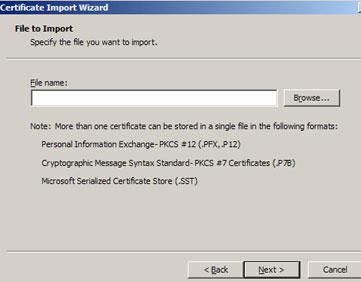 Locate Root Certificate